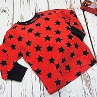Blade & Rose–Rojo y Negro Estrellas Top