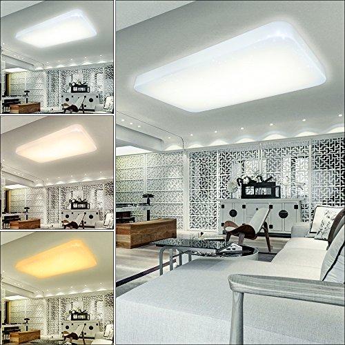 VGO® 60W 3in1 Farbwechsel LED Sternenhimmel Deckenleuchte Moderne Kinderzimmer Wand-Deckenleuchte Badleuchte