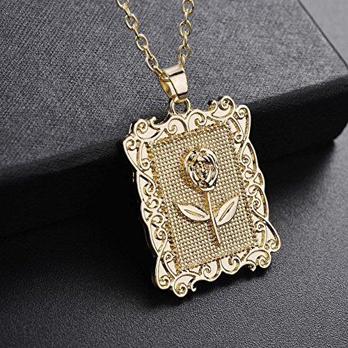 OVERMAL Männer Frauen Mode Luxus gefüllt Curb Cuban Link Gold Halskette Schmuck Kette