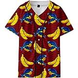Banana Fish Maglietta T-Shirt Classica a Maniche Corte da Uomo Fashion a Maniche Corte