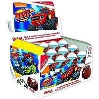 Blaze huevos de chocolate sorpresa 20 g x 24 piezas de Zaini - ideal para la caza de Pascua, fiestas infantiles y juegos