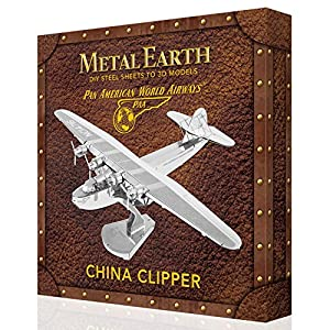 Metal Earth - Maqueta metálica Avión PanAmerican China Clipper - Edición