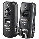 Walimex Pro Blitz und Kameraauslöser (Frequenz 2,4GHz, Reichweite bis 30 m, für System, Studioblitz, Kamera, 16 Kanäle) für Sony