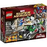Lego Super Heroes - Marvel - 76015 - Jeu De Construction - Le Braquage Du Camion Par Le Docteur Octopus