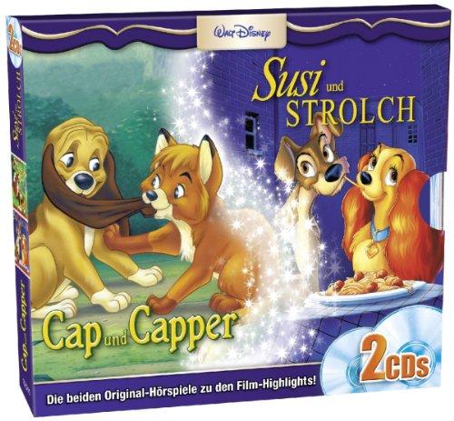Cap und Capper und Susi und Strolch: 2er Box - Set (Disney Box-set Walt)