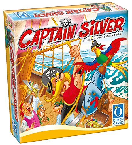 "Queen Games 30061 - ""Captain Silver"" Brettspiel DE, GB"