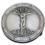 PANCY Circular Men's Tree Of Life Roots Branches Belt Buckle