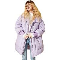 Elf Sack - Piumino invernale da donna, con cappuccio, leggero, con cappuccio lavanda M