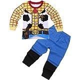 iiniim Conjuntos Pijama Niño Top y Pantalones Ropa de Dormir Algodón Ropa Interio rpara Niños Chicos (18 Meses a 8 Años)
