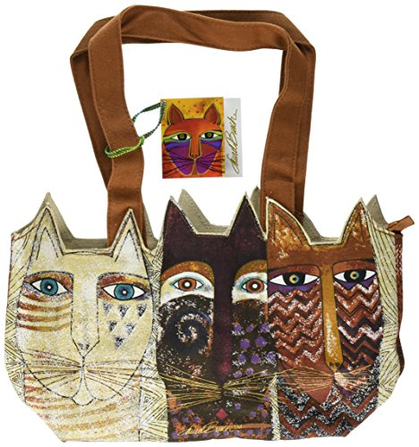 laurel-burch-laurel-burch-medium-tote-zipper-top-14-1-2-by-4-by-8-inch-ancestral-cats