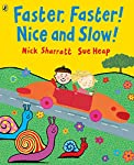 A third title in this superb series by award-winning best friends, Sue Heap and Nick Sharratt.  Here is the perfect way to learn about opposites. Whether it's a quiet cat and a noisy dog, a freezing cold or a hot and sunny day or a super fast leopard...
