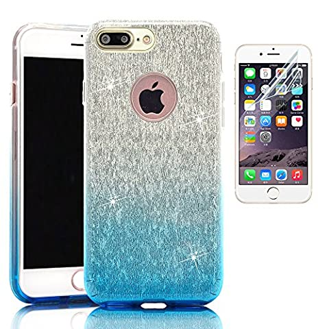 iPhone 7 Plus Case, Sunroyal Luxury Bling Sparkle Glitter Practical Protective Back Cover Ultra Thin (Formula 1 Womens Watch)