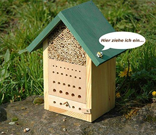 Luxus-Insektenhotels Hochwertige Nisthilfen für Wildbienen - 3