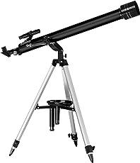 Zavarius Fernrohr: Großes Refraktor-Teleskop 60/900 mit Dreibein-Stativ (Sternenhimmel Teleskop)