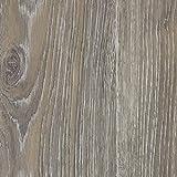 PVC-Boden Holzdielenoptik Grau Struktur m. Vliesrücken| Muster | Vinylboden versch. Längen | Fußbodenheizung geeignet | Platten strapazierfähig & pflegeleicht | robuster rutschhemmender Fußboden-Belag