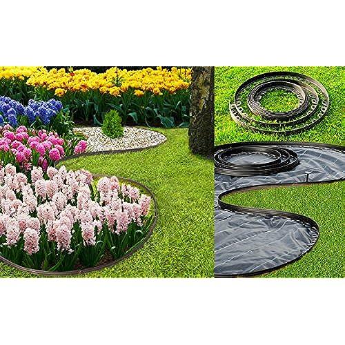 Bordure jardin plastique: Amazon.fr