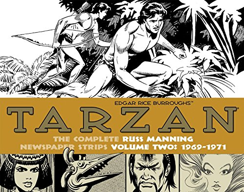 Tarzan: The Complete Russ Manning Newspaper Strips Volume 2 (1969-1971)