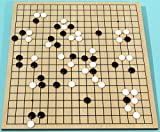 Go Game with Wood board ref. no. 710