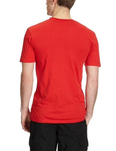 DC Shoes Herren T-Shirt Armoured athletic red