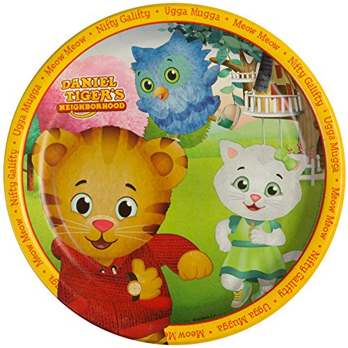 Daniel tiger party supplies - dinner plates (8) by birthdayexpress