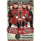Poster Deadpool Wade VS Wade