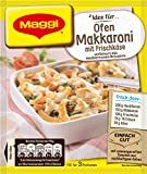 Maggi Fix Ofen Makkaroni mit Frischkäse, 34 er Pack (34 x 40 g)