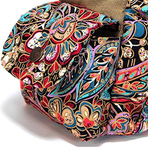 Chang Spent marée Femme grand sac de toile Messenger sac fourre-tout sac d'épaule de sac à main , a a