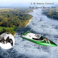 JIANGfu Water Cooling High Speed Racing RC Boat Gift FT009 2.4GHz 4 Channel