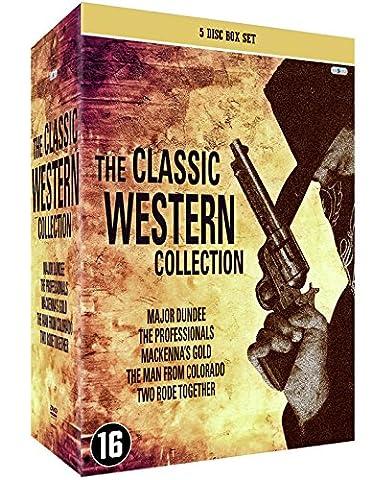 Western Klassiker Legenden Sammlerbox 5 DVD: Sierra Charriba / Die Gefürchteten Vier / MacKenna's Gold / Der Richter von Colorado / Zwei Ritten Zusammen [5 DVD Box
