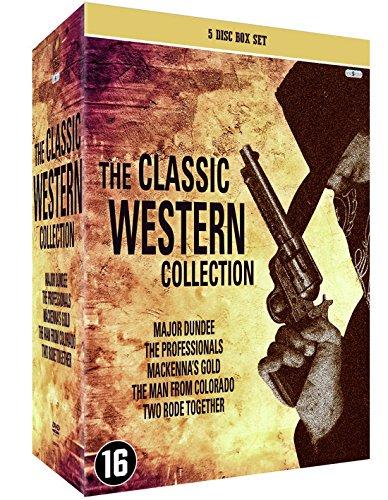 Western Klassiker Legenden Sammlerbox 5 DVD: Sierra Charriba / Die Gefürchteten Vier / MacKenna's Gold / Der Richter von Colorado / Zwei Ritten Zusammen [5 DVD Box Set] - John Western Collection Wayne