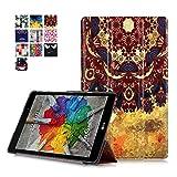 Funda para el LG Pad 3 8.0 Tablet,Funda de Cuero Carcasa Piel con Soporte para el Tablet LG G Pad 3...