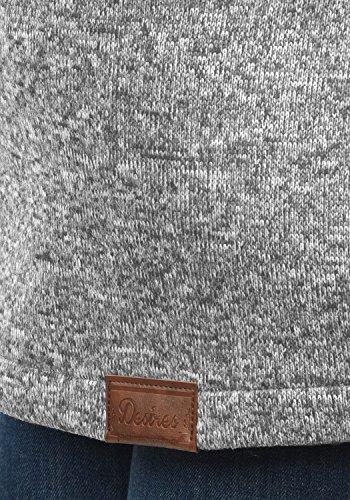 DESIRES Thora Damen Lange Fleecejacke Sweatjacke Jacke Mit Kapuze Und Daumenlöcher, Größe:XL, Farbe:Dark Grey (2890) - 5