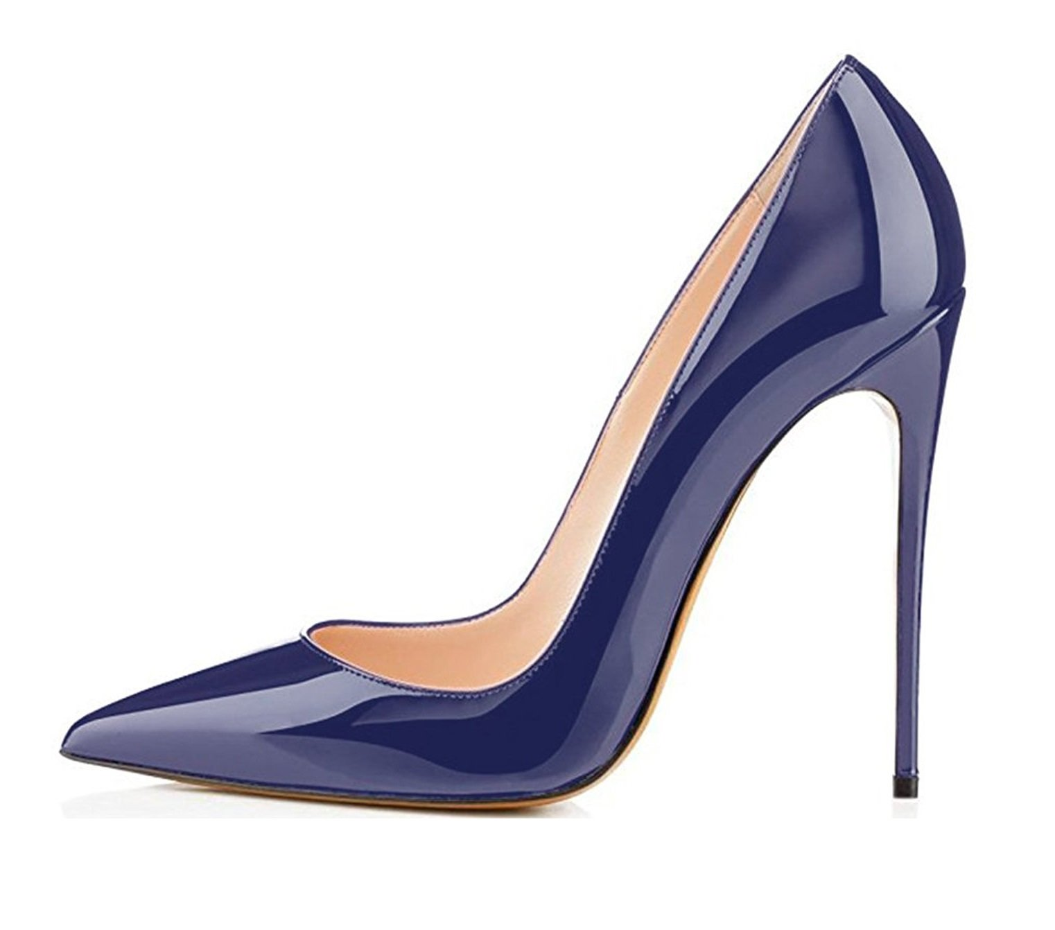 EDEFS Scarpe col Tacco Donna – Classico High Heels Scarpe da Donna – Tacco a  Spillo – 12CM Scarpe Donna 38064db20fa