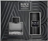 Antonio Banderas Black Seduction Eau de Toilette, 100ml with Deodorant Spray, 150ml