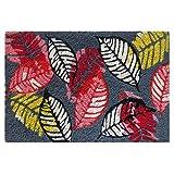 #5: Beautiful leaves coir door mat size 40cm x 60cm by ATMAH