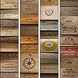 murando - PURO TAPETE - Realistische Tapete ohne Rapport und Versatz 10m Vlies Tapetenrolle Wandtapete modern design Fototapete - Textur Holz Bretter Aufschrift f-A-0540-j-b