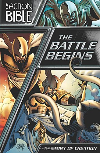 The Battle Begins: The Story of Creation (Action Bible)
