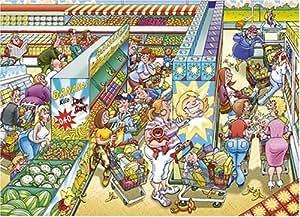 Jumbo Puzzle - HiddenXtra 4 Gone Bananas - 1000 + 200 piece puzzle