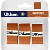 Wilson Unisex-Adult Roland Garros Pro Overgrips, Clay, One Size