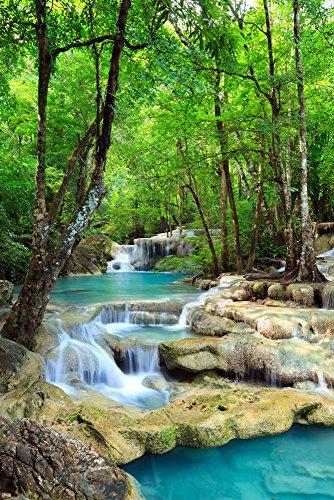 Poster Wasserfälle -
