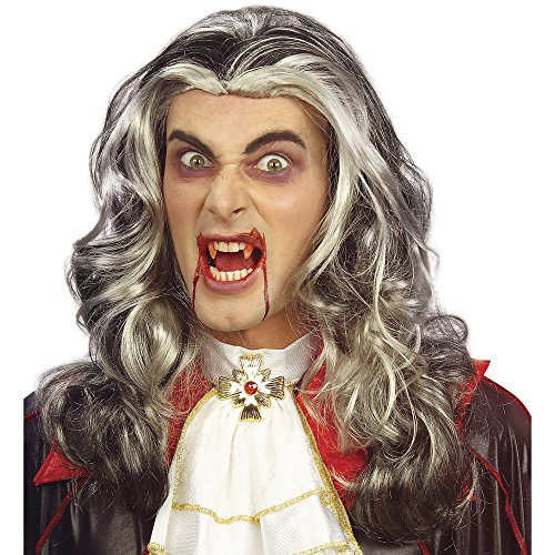 (Widmann 6146T - Perücke Dracula)