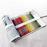 Il modo più semplice e comodo per portare le tue matite da disegno a destinazione è questo elegante involucro a matita. Avere tutto visibile e organizzato è molto più facile che fare il carrello di una scatola di matite e dover cercare attraverso di...