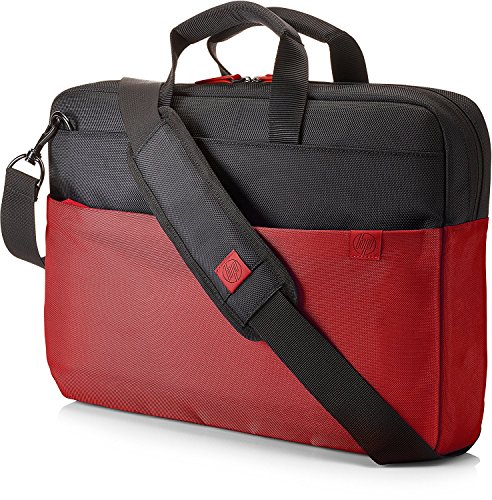 HP Duotone Aktentasche (39,62 cm / 15,6 Zoll) für Notebooks, Laptops, Tablets in rot