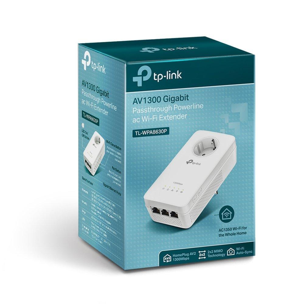 TP-Link TL-Powerline Einzeladapter (1 Fast-Ethernet-Port, französische Version, nicht für Deutschland geeignet)