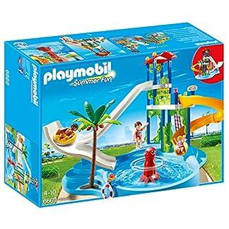PLAYMOBIL – Parque acuático con toboganes (66690)