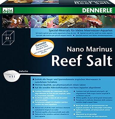 Dennerle Traitement de l'Eau pour Aquariophilie Nano Marinus Reefsalt