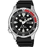 Citizen Promaster Diver 200 mt Automatico NY0085-19E Orologio da polso Uomo lunetta rosso-nera