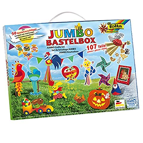 Folia 50915/1 - Jumbo Bastelkoffer,