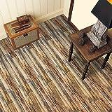 FLAMEER Holz Klebefolie Holzoptik Möbelfolie Selbstklebende Folie Tapete Aufkleber für Boden Wand - # 8