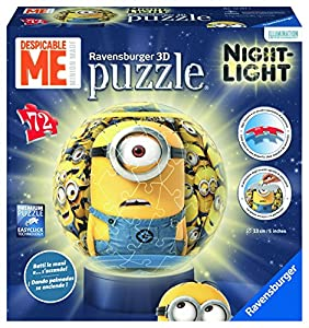 Ravensburger Frozen - Lámpara Nocturna, Puzzle 3D de 72 Piezas 121915